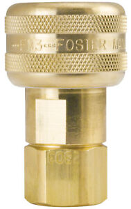 10 Foster Fm3003 Quick Connect Air Hose Coupler 1 4 X 1 4 Fitting