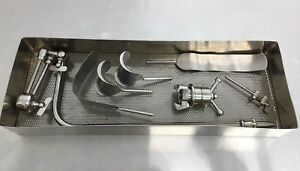 Automated Medical 22 Iron Intern General Surgery Set Lc 1 Greenstein Clamp