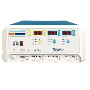 Bovie Surgicenter Pro 200w Electrosurgical Generator A2350 New 4 Yr Warranty