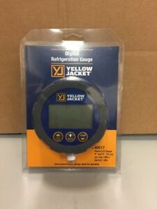 Yellow Jacket Digital Refrigeration Gauge 49017