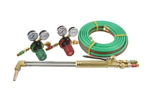 S a 21 Heavy Duty Cutting Torch And Regulators Kit 50 Hose Acetylene