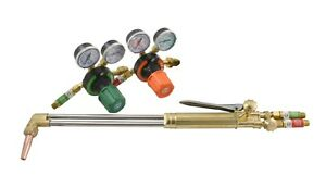 S a 21 Heavy Duty Cutting Torch And Regulators Kit Propane