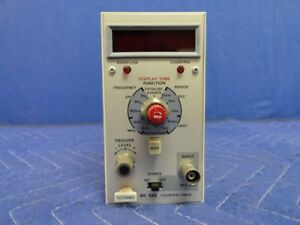 Tektronix Tek Dc504 Counter timer 80 Mhz Plug in For Tm500 C22