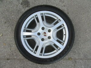 4 Used Porsche Panamera Wheels And 4 Used Tires