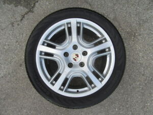 4 Used 19 Inch Porsche Panamera Wheels And 4 Used Tires