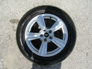 4 Used 17 Inch Ford Mustang Wheels With 4 Used Hankook Tires
