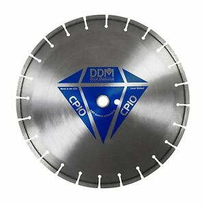 Dixie Diamond Manufacturing Cp1014125 Cured Concrete Premium Grade Wet Cutting