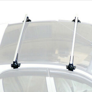 2 47 Skidproof Car Top Luggage Cross Bar Roof Rack Carrier 3 Clamps Universal
