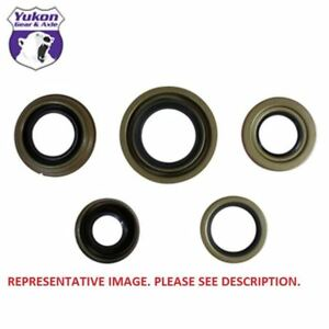Yukon Replacement Pinion Seal For 98 Newer Ford Dana 80 Flanged Style