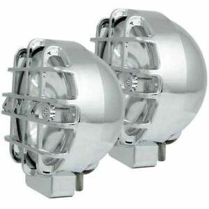 Anzo 861095 6 Hid Bullet Style Off road Lights Chrome Pair