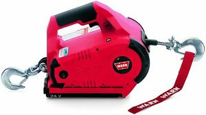 Warn 885005 1000 Lbs 24v Dc Powered Cordless Electric Pulling Tool Pullzall