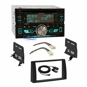 Kenwood Cd Sirius Bluetooth Stereo Dash Kit Harness For 2002 2006 Toyota Camry