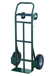 Hand Truck Dolly Steel 700 Lb Heavy Duty Dual Capacity Convertible Platform Cart