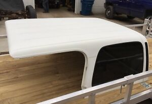 Jeep Tj Wrangler Factory Hard Top Hardtop Good Glass 97 06 Oem White