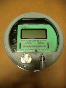 Elster Electric Watthour Meter Direct Read 4 Wire 120 480v Cl320 Zq3400g000 st