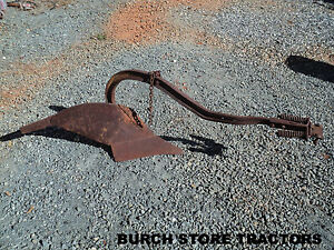 Official Ih Farmall Cub Drawbar Bottom Turning Plow