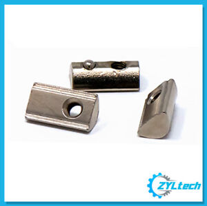 100x Zyltech Spring Loaded Tee T nuts For 3030 30 Series Aluminum Extrusion M5