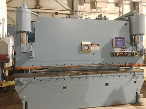 175 Ton X 12 Niagara Cnc 2 Axis Hydraulic Press Brake Metal Bender