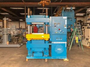 Wabash Hydraulic 4 Post Press 300 Ton X 24 X 24 7963
