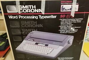 Smith Corona Sd 670 Word Processing Typewriter Box Manual Extra Daisywheels 5a 1