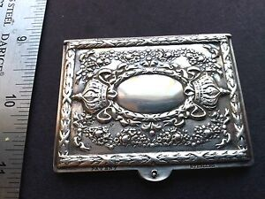 Beautiful Antique Sterling Case