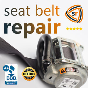 Ford F150 Seat Belt Repair Pre tensioner Rebuild Assembly Fix After Accident Oem