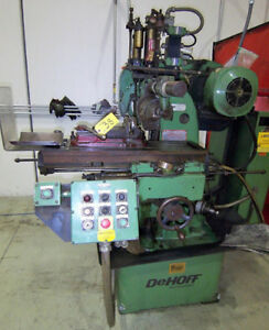 8 5 X 30 Table Dehoff Nichols Horizontal Production Metal Milling Machine
