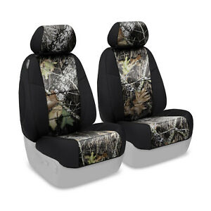 Coverking Mossy Oak Break Up Camo Front Tailored Seat Covers For Toyota Tacoma