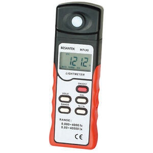 Besantek Bst lx2 Light Meter Measures To 40000 Lux And 4000 Fc
