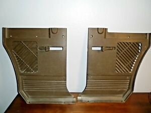 1964 Amc Rambler Classic 660 Wagon Kick Panel Pair L r Side