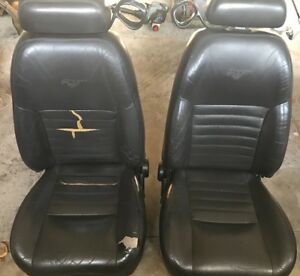 2002 Ford Mustang Leather Seats