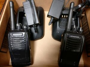 Kenwood Tk 3360 Uhf Two Way Radios pair Used