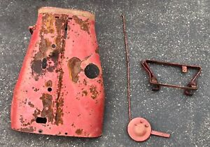 Farmall F20 Tractor Hood And Custom Throttle Linkage And Throttle Lever
