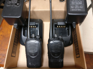 Kenwood Tk 3160 Uhf Two Way Radios pair Used