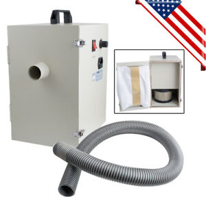 Portable Dental Digital Dust Collector Vacuum Cleaner Lab Equipment Table 1200w