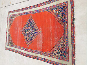 Antique Persian Farahan Bijar Rug