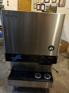 Hoshizaki Ice Machine And Water Dispenser Unit Counter Top Model Used