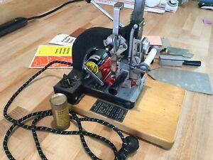 Kingsley Model M 50 Hot Foil Stamping Machine W type Or Letter Accessories