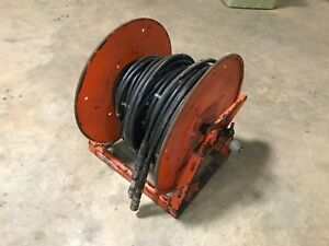 Holmatro Rescue 100 Hydraulic Hose Reel For Spreader Or Cutter Jaws Of Life