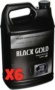 6 Jb Dvo 24 6 gallon Black Gold Deep Vacuum Pump Oil new In Sealed Jug