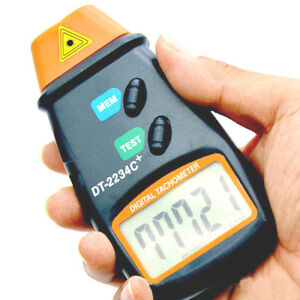Rpm Speed Kit Small Engine Non Contact Hand Held Digital Laser Photo Tachometer