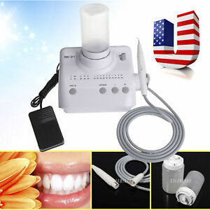 Dental Piezo Ultrasonic Scaler 2 water Bottles Tips Tubes Fit Dte satelec Uh