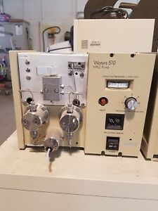 Millipore Waters Lab Model 510 Lab Solvent Delivery System Hplc Pump