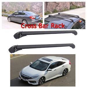 Car Roof Rack Luggage Carrier Cross Bar 43 120kg Load For Honda Civic 2005 2012