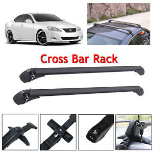 Car Roof Bars Rack Luggage Carrier Cross 43 For Lexus Is250 2010 2015 Universal