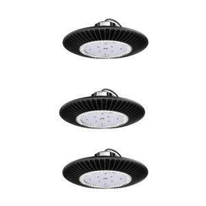 3pcs 50w Ufo Led High Bay Light Super Bright Waterproof Commercial Lighting Ip65