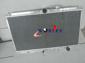 Aluminum Radiator For 1997 2001 Honda Prelude Acura Cl 2 2l L4 2row At mt