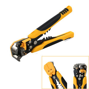 Electric Wire Stripper Automatic Terminal Wire Stripping Tool Crimper Pliers US
