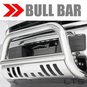 Bull Bar For 2015 2019 Chevy Colorado Skid Plate Brush Push Guard S S