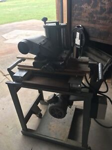 Williams And Hussey W H W7smolder Planer Unit Workhorse Cast Iron Molder